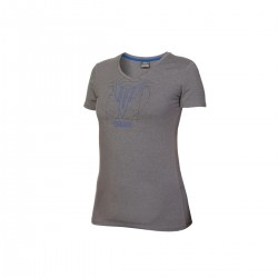T-shirt Yamaha Hypernaked Gris femme