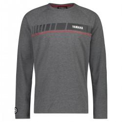 T-shirt Yamaha REVS 2019 Gris Homme Manches Longues